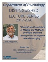 Distinguished Lecture Series: David Kaplan, PhD